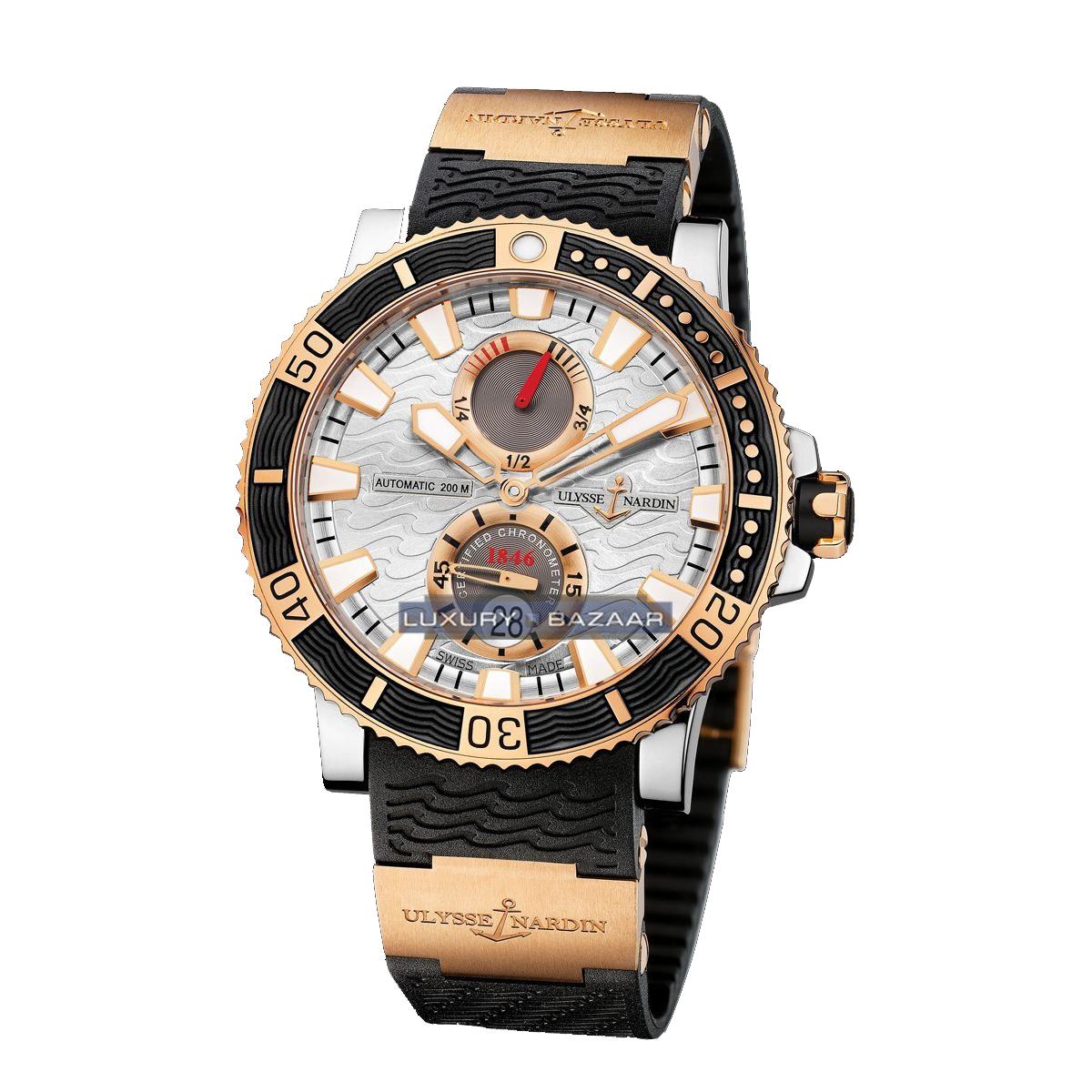 Maxi Marine Diver Chronometer Titanium 45mm 265-90-3/91
