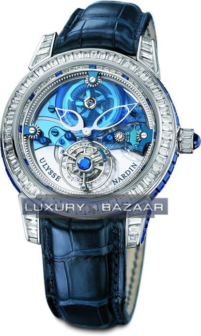 Royal Blue Tourbillon 43mm 799-99BAG