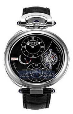 Fleurier 46 Tourbillon Orbis Mundi Amadeo Limited Edition (WG / Black / Leather)