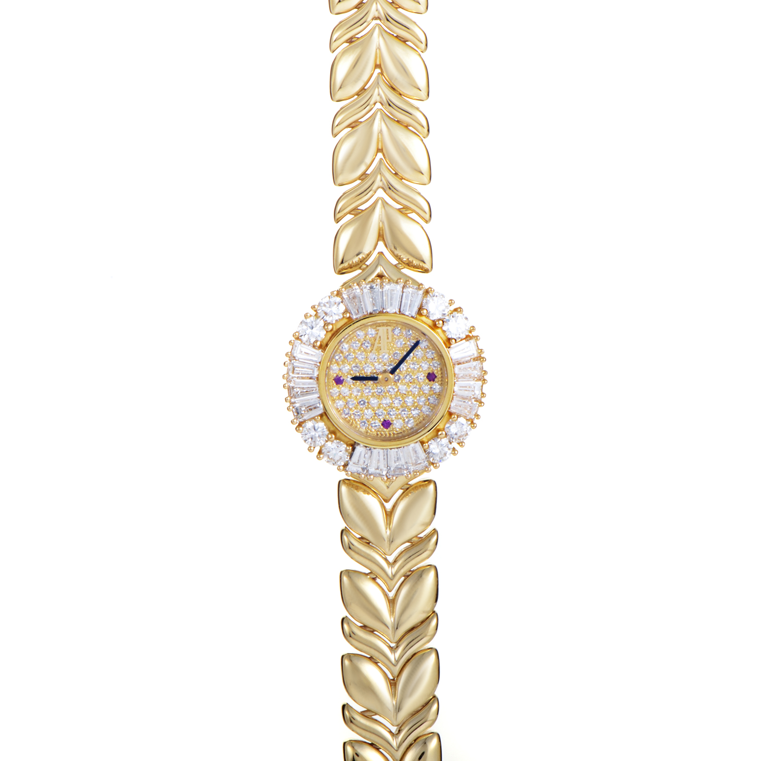 Yellow Gold Ladies Quartz Watch 66803BA.ZZ.1018BA.01
