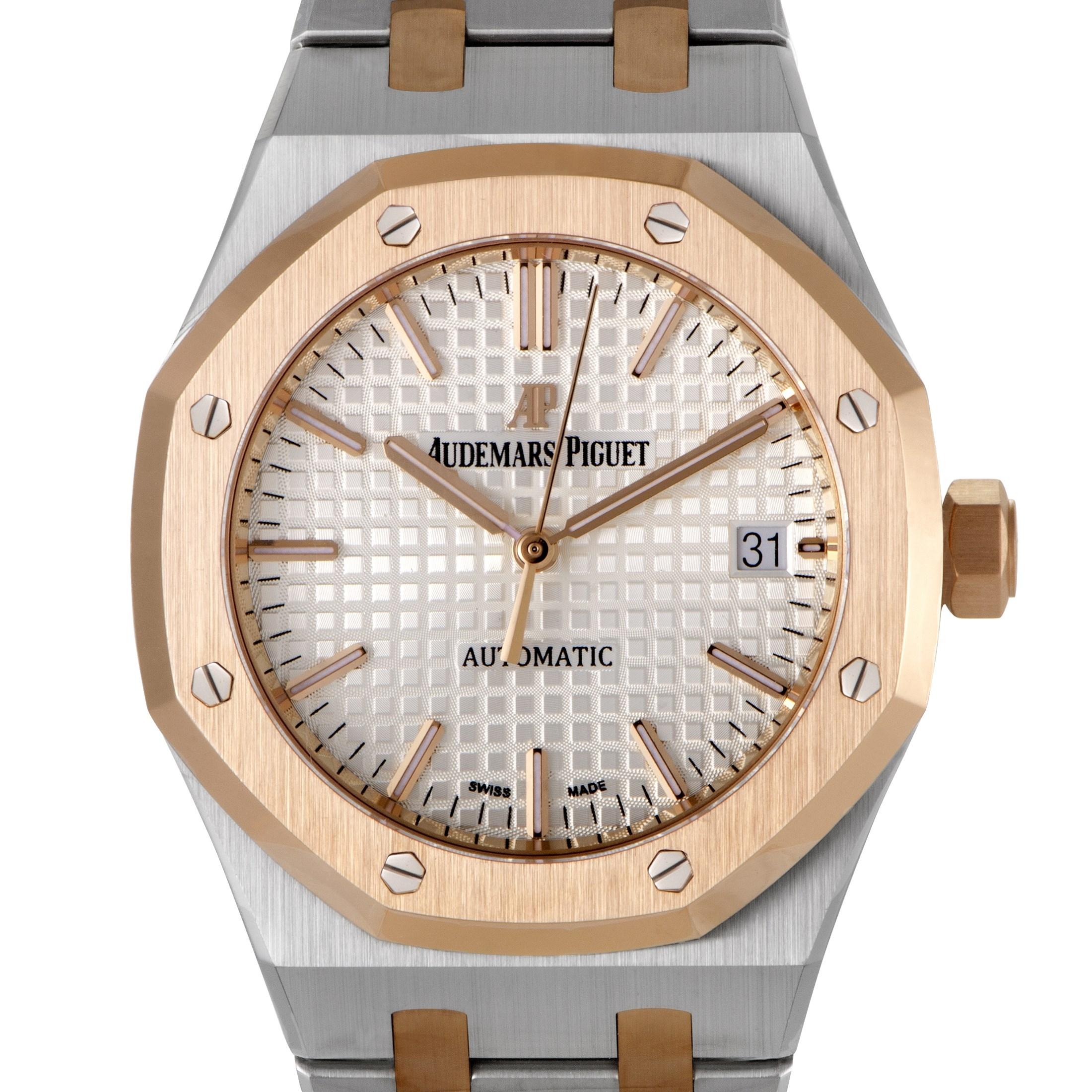 Royal Oak Womens Automatic Watch 15450SR.OO.1256SR.01