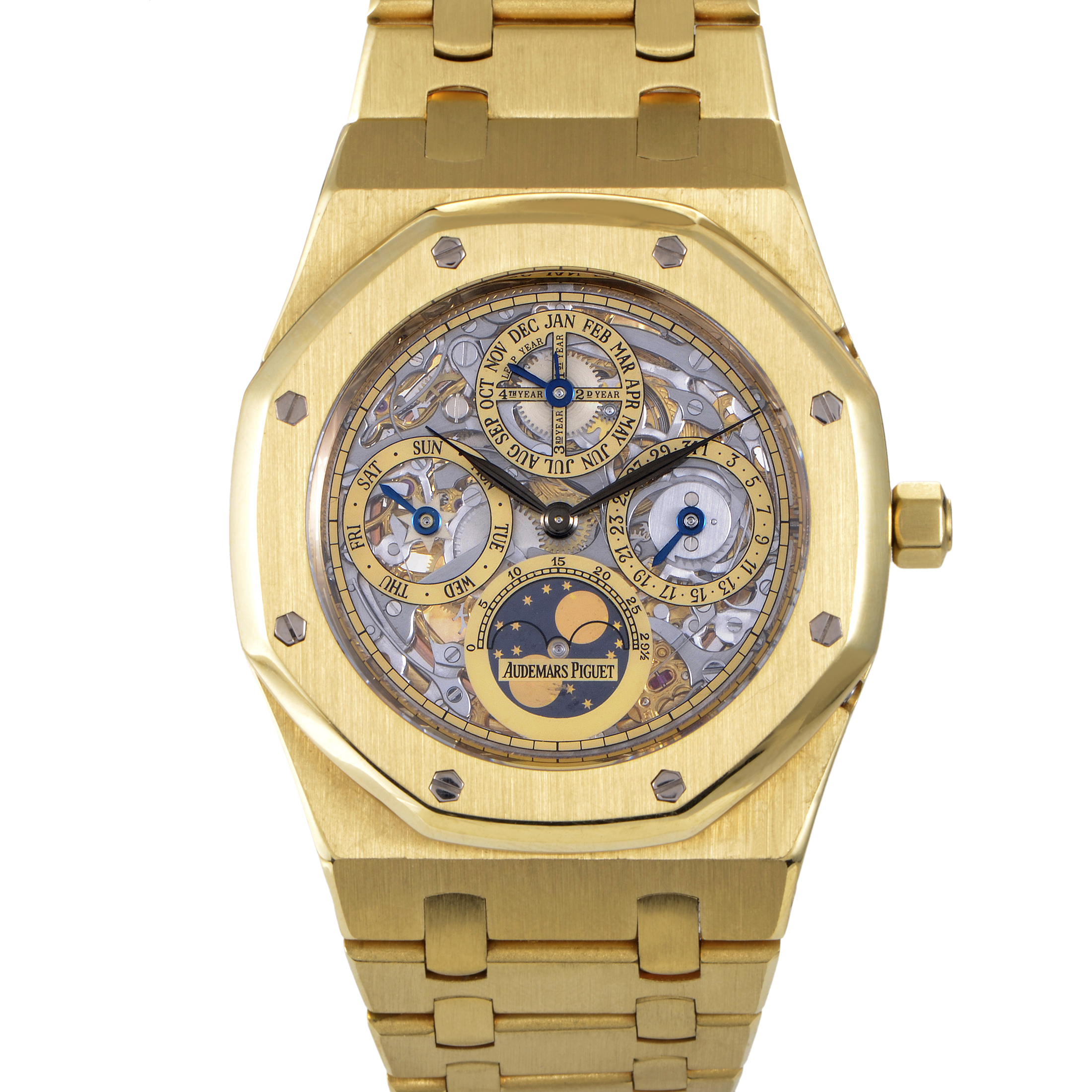 Royal Oak Perpetual Calendar Skeleton Watch 25829BA.OO.0944BA.01
