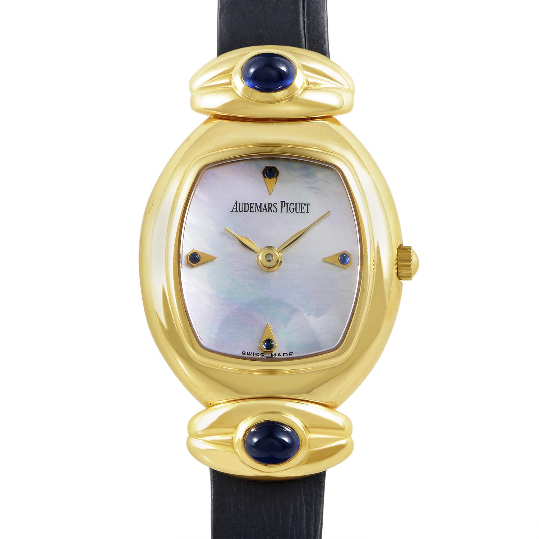 Audemars Piguet Ladies Yellow Gold Quartz Watch 66665BA.SS.A002CR.01