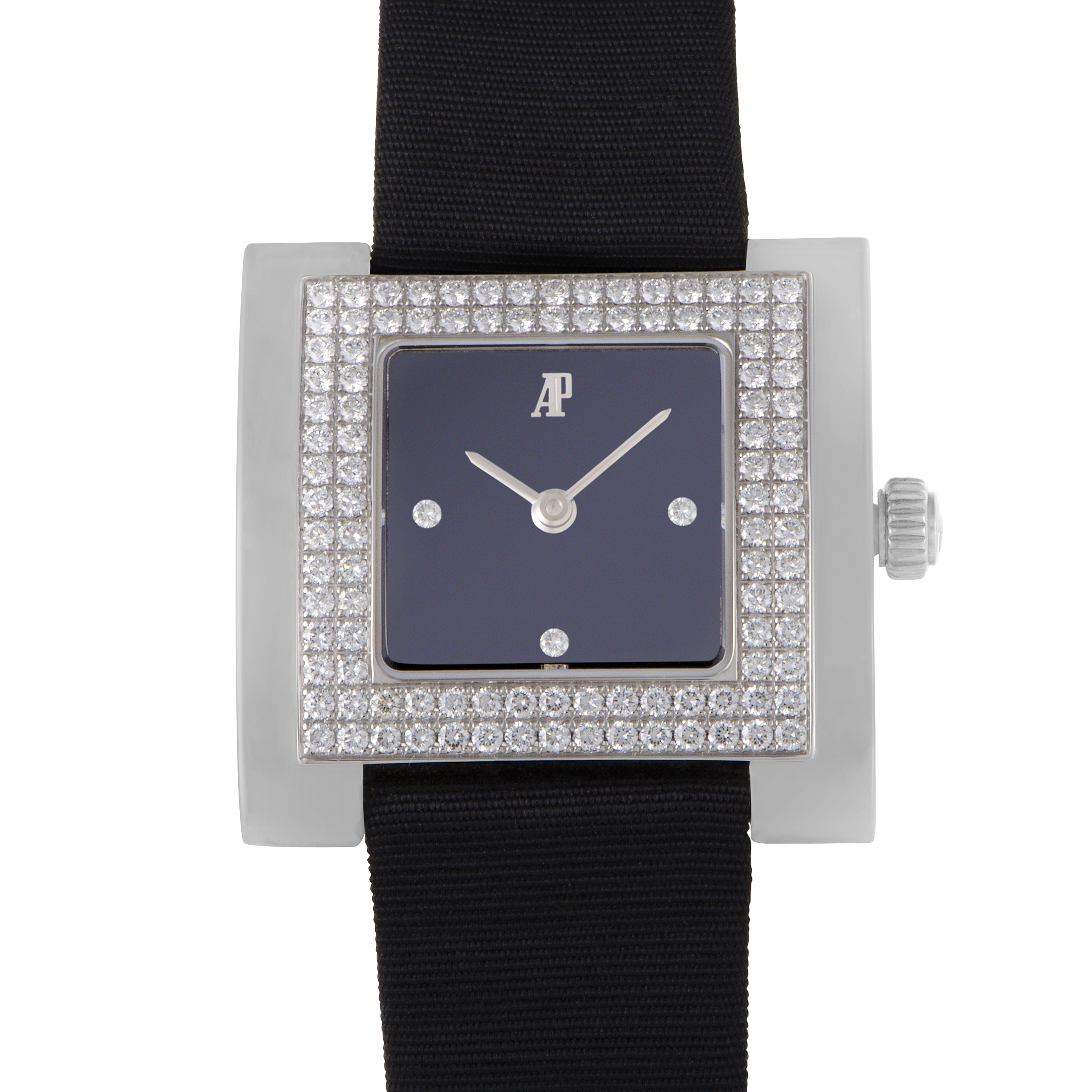 Womens Square Stainless Steel Quartz Watch 67392BC.ZZ.A001LZ.01