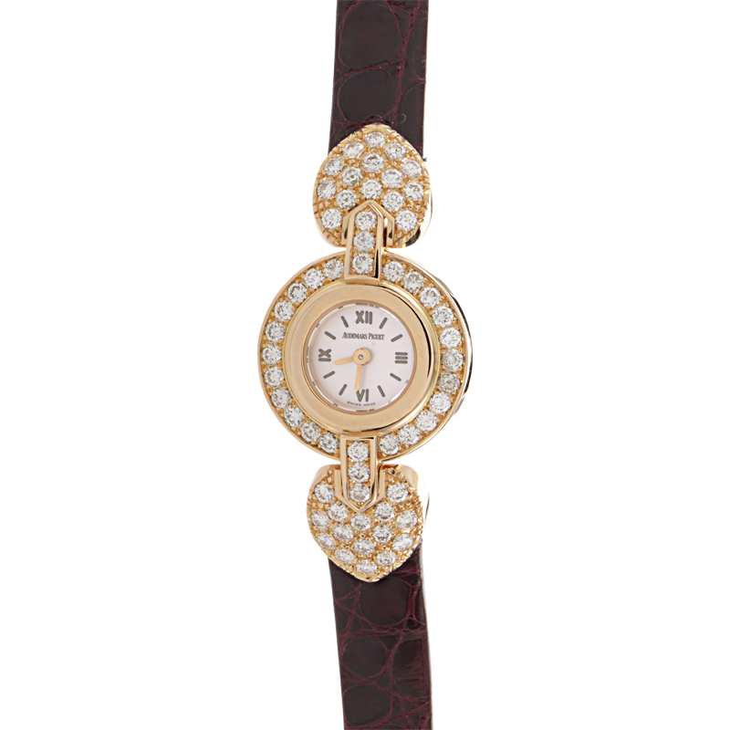 Ladies Quartz Rose Gold Diamond Watch Q67118OR.ZZ.A009XX.01