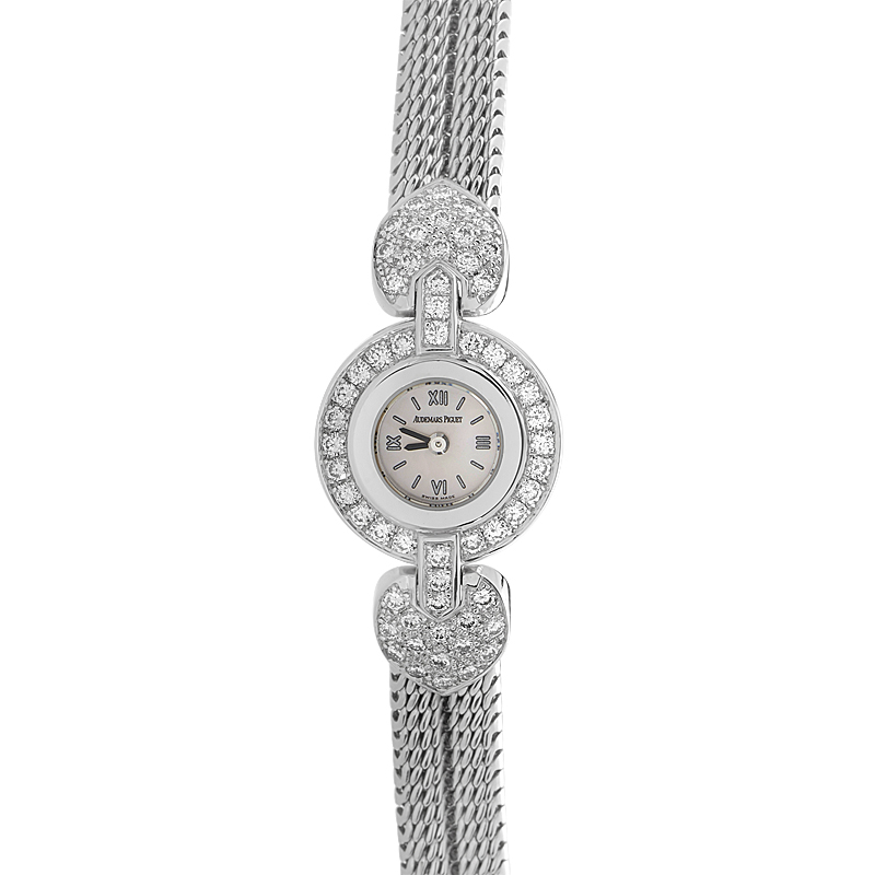 Ladies Quartz White Gold & Diamond Watch 67119BC.ZZ.1127.BC01