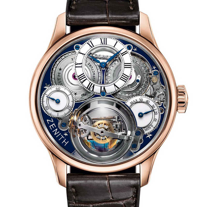 Academy Christophe Colomb Hurricane Grand Voyage II 18.2215.8805/36.C713 (Rose Gold)