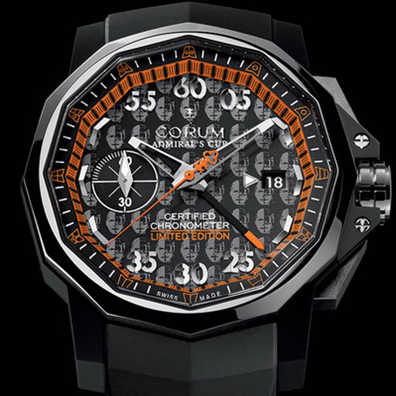 Admiral's Cup Seafender 44 Chrono Didier Cuche 960.801.20/F371 AKDC
