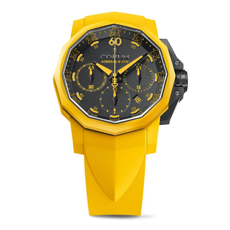 Admiral's Cup Challenger 44 Chrono Rubber 753.815.02/F375 AN51