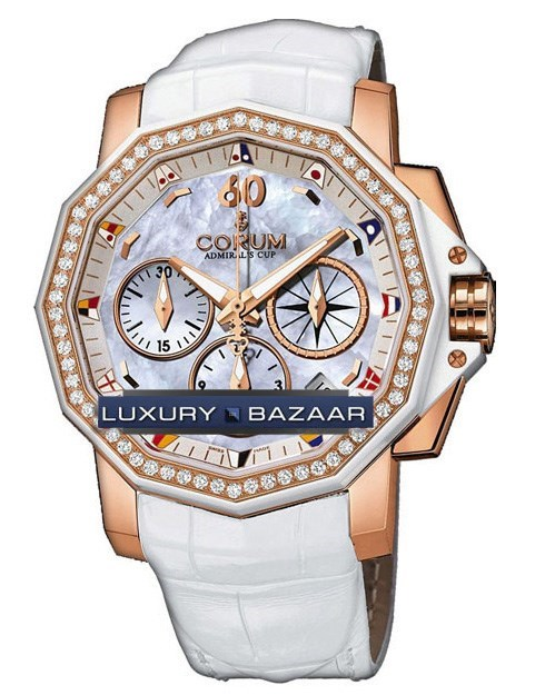 Admirals Cup Chronograph 40 Diamonds 984.970.85/0089 PN14