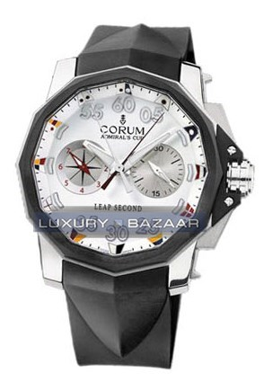 Admirals Cup Leap Second 48 (Titanium / White / Rubber)