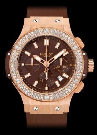 Aero Bang Cappuccino Gold Diamonds 301.PC.3180.RC.1104