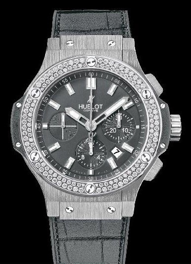 Big Bang Steel Earl Gray Diamonds 301.ST.5020.GR.1104