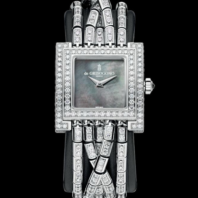 Allegra Watch ALLEGRA S07 1B (White Gold)
