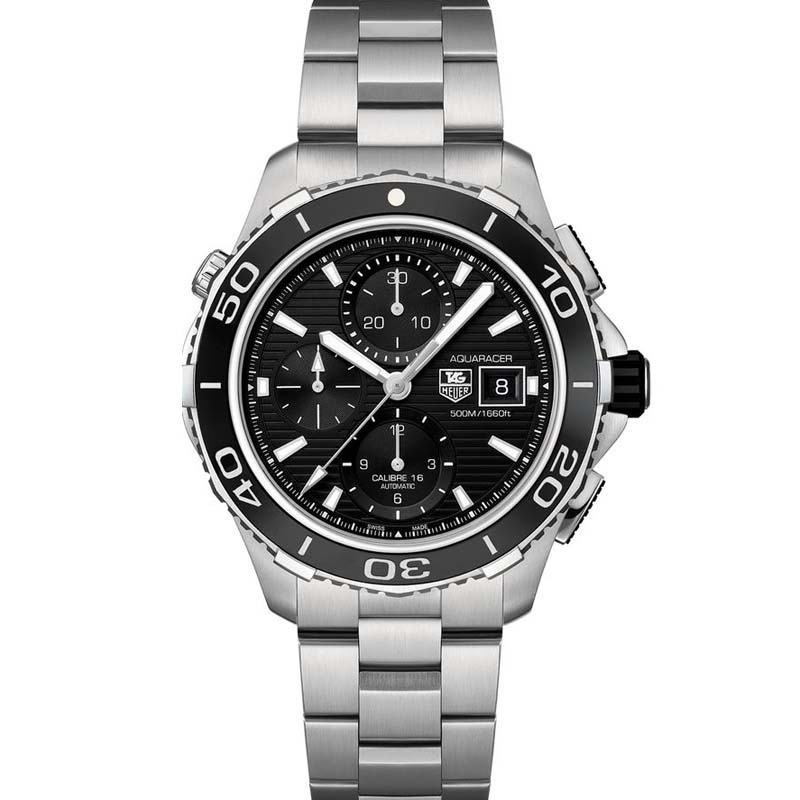 Aquaracer 500 Automatic Chronograph Watch CAK2110.BA0833