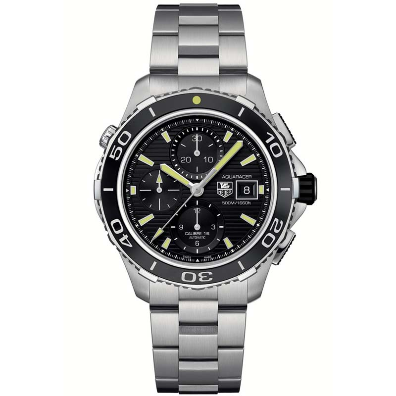 Aquaracer 500 Automatic Chronograph Watch CAK2111.BA0833