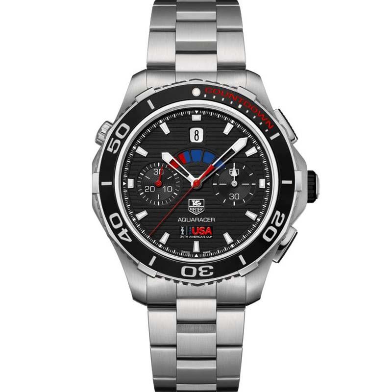 Aquaracer 500 Automatic Chronograph Watch CAK211B.BA0833