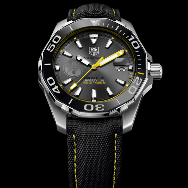 Aquaracer Calibre 5 Jeremy Lin (Stainless Steel)