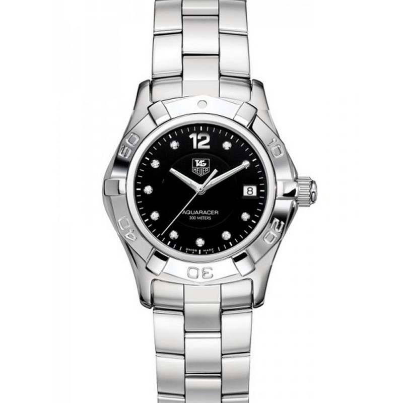Aquaracer Quartz Watch with Diamonds WAF141C.BA0824