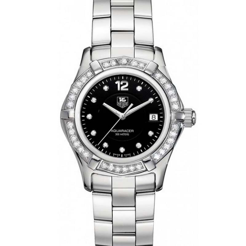 Aquaracer Quartz Watch with Diamonds WAF141D.BA0824
