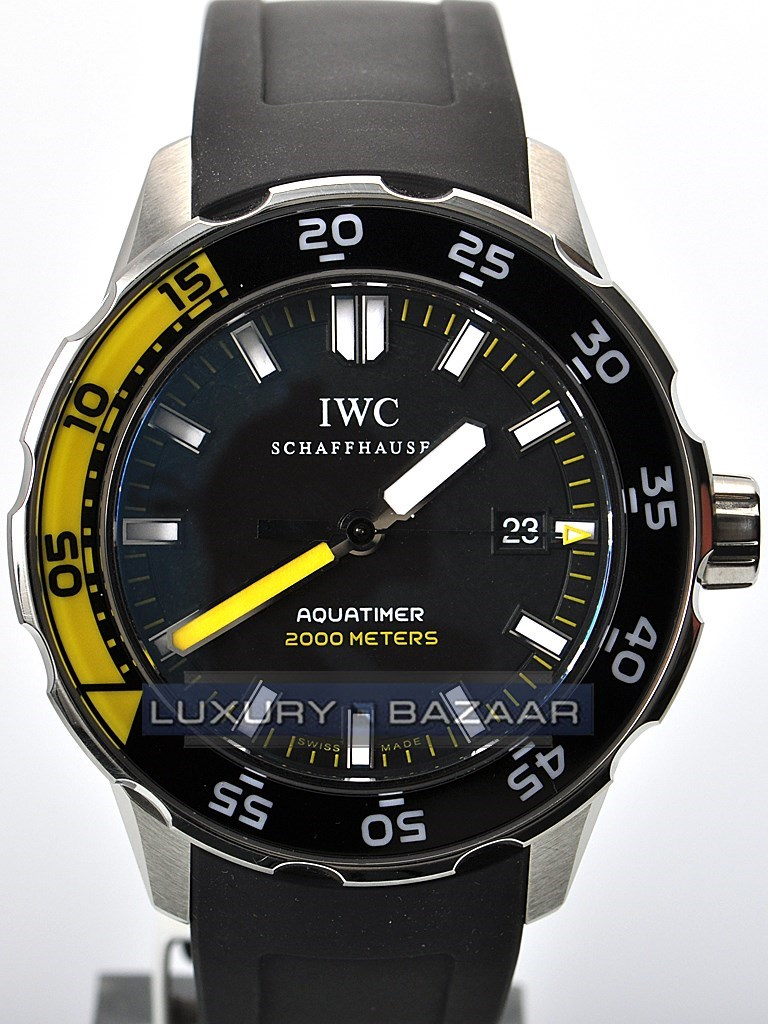 Aquatimer Automatic 2000 (SS/Black/Rubber Strap)