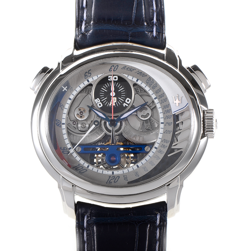 Millenary Maserati Tourbillon Chronograph  26069PT.OO.D028CR.01