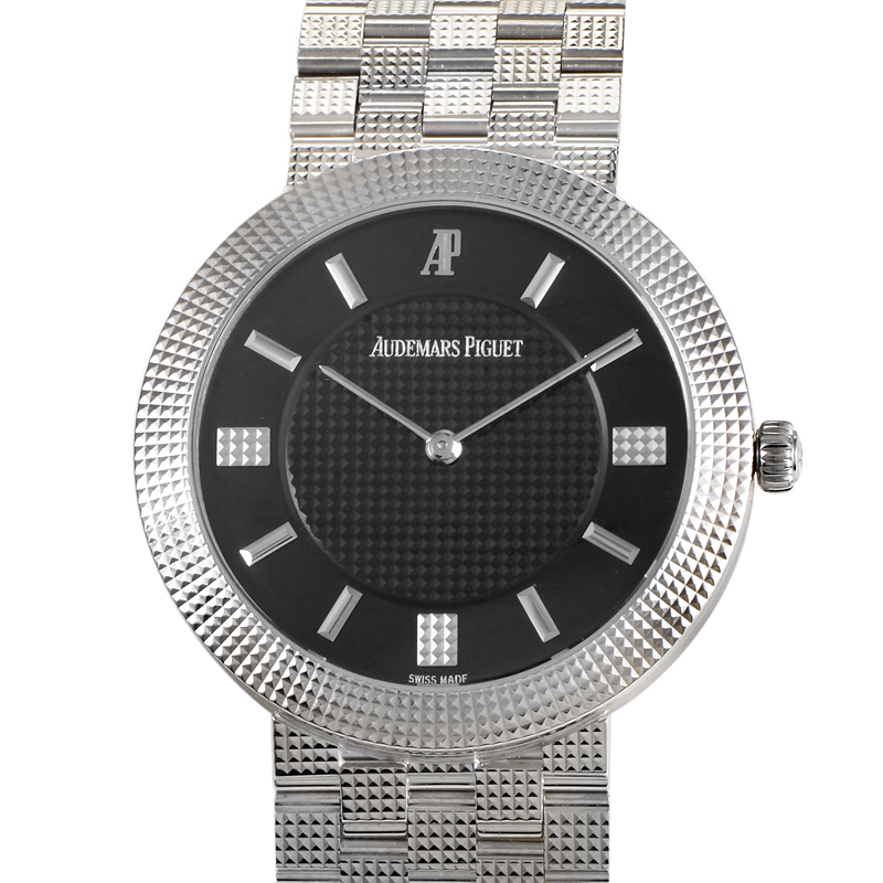 Classic Men's White Gold Wristwatch 15026BC.GG.1119BC.01