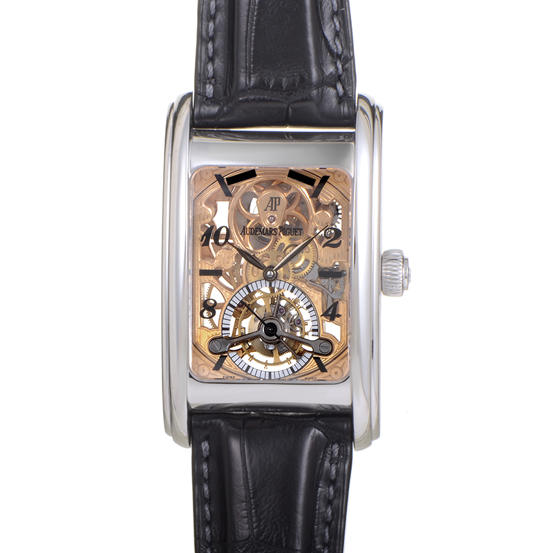 Edward Piguet Tourbillon Skeleton 25947PT.OO.D002CR.01