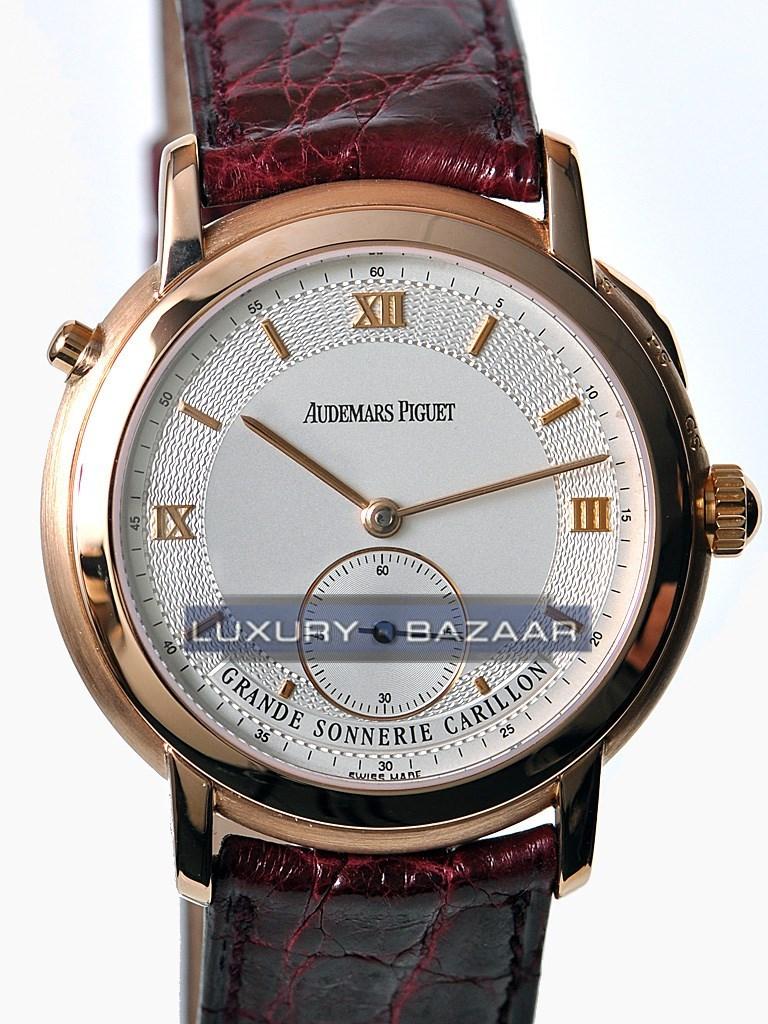 Audemars piguet grande sonnerie carillon apgs1949 luxury bazaar for Grande sonnerie