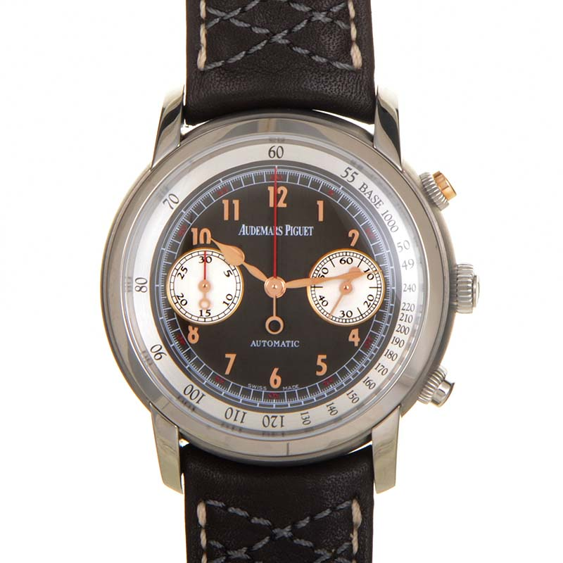 Jules Audemars Gstaad Classic Chronograph 26558TI.OO.D080VE.01