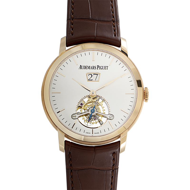 Jules Audemars Men's Large Date Tourbillon 26559OR.OO.D088CR.01