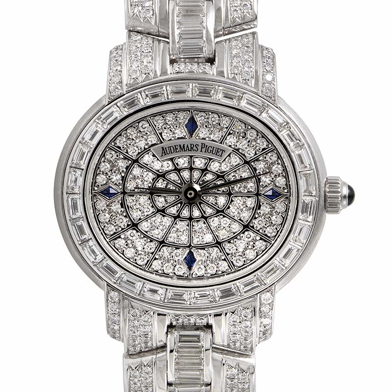 August Steiner Millenary Pave Watch 79367BC.ZZ.9149BC.02