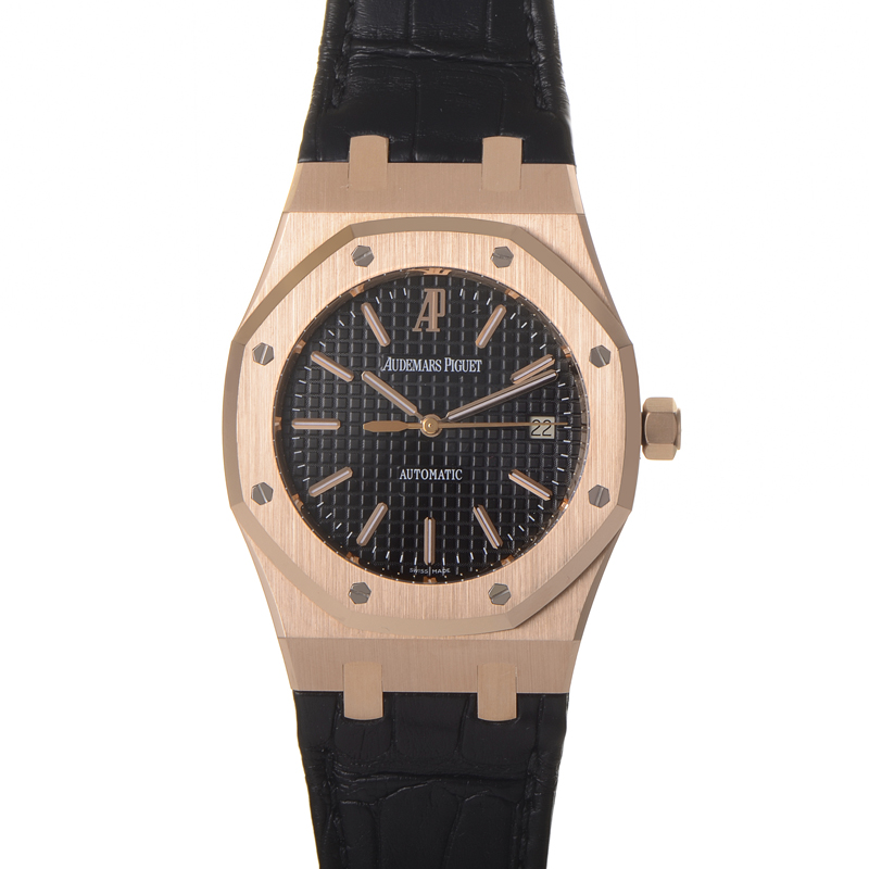 Royal Oak Extra-Thin Mens Automatic Watch 15300OR.OO.D002CR.01