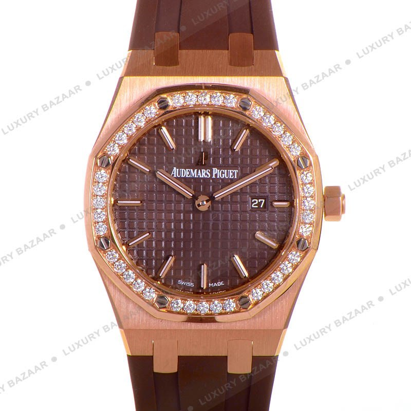 Royal Oak Lady Quartz 33 mm 67651OR.ZZ.D080CA.01