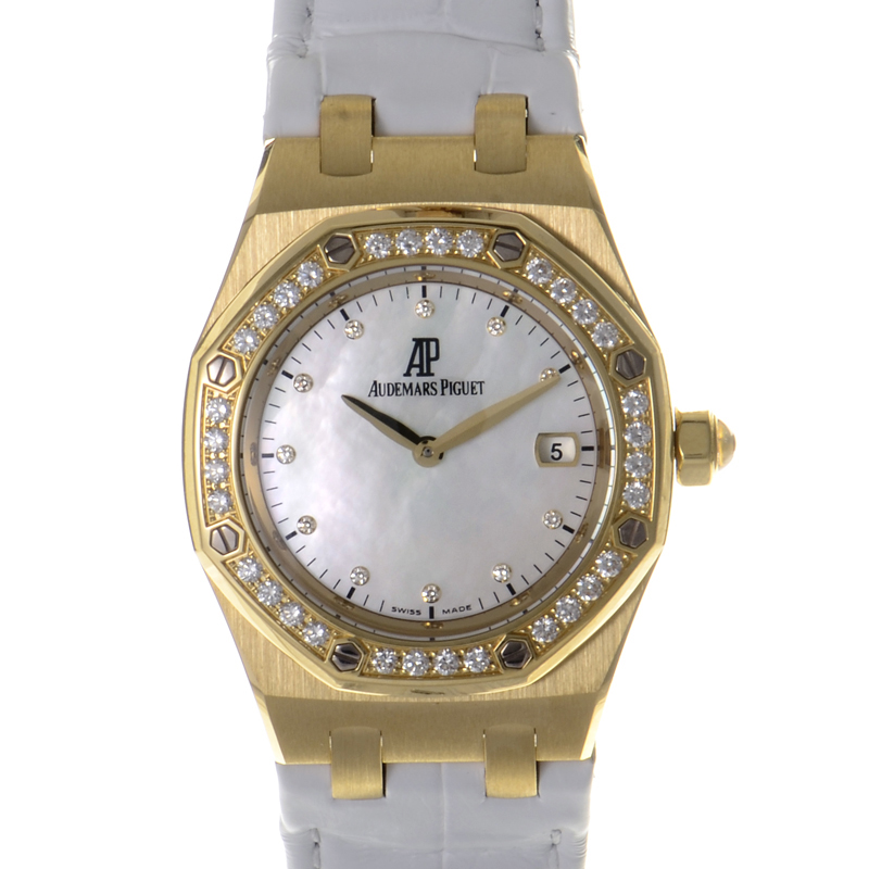 Royal Oak Women's Gold Quartz Watch 67601BA.ZZ.D012CR.03