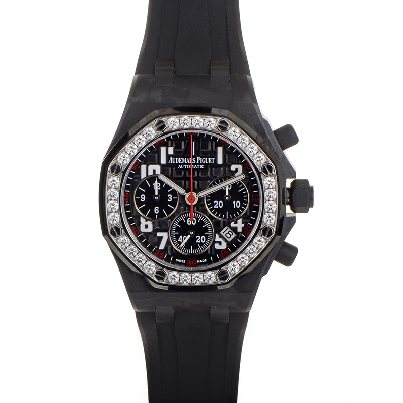 Royal Oak Offshore Forged Carbon Ladies Watch 26267FS.ZZ.D002CA.02