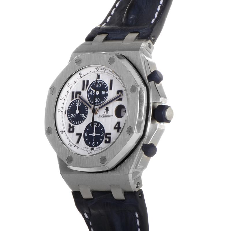 Audemars piguet royal oak offshore chrono themes 26170st oo luxury bazaar www for Royal oak offshore navy