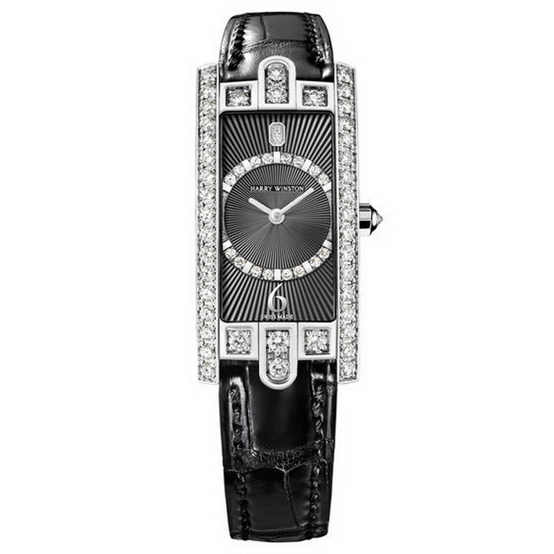 Avenue C Art Deco AVCQHM19WW130 (White Gold)