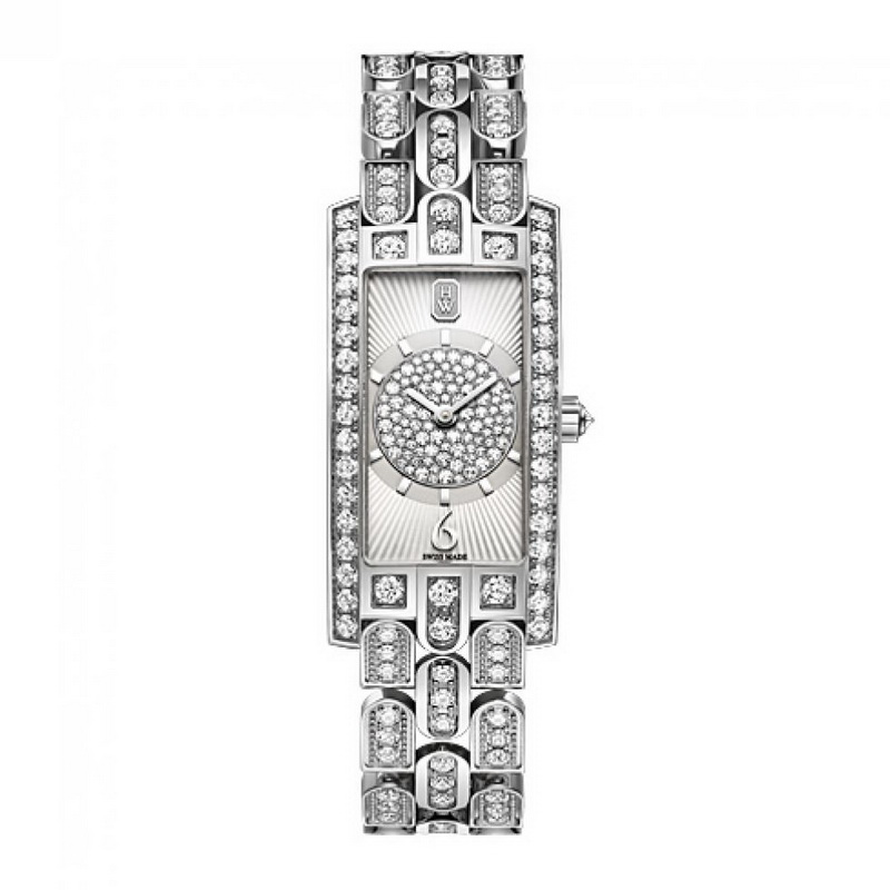 Avenue C Art Deco AVCQHM19WW135 (White Gold)