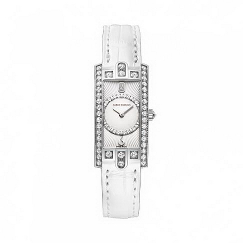 Avenue C Mini Art Deco AVCQHM16WW045 (White Gold)