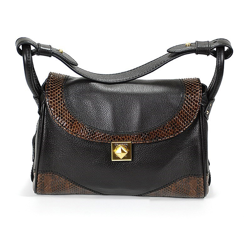 Escapade VII Santa Fe Dark Brown Leather Handbag BAGCNLECO.44.003