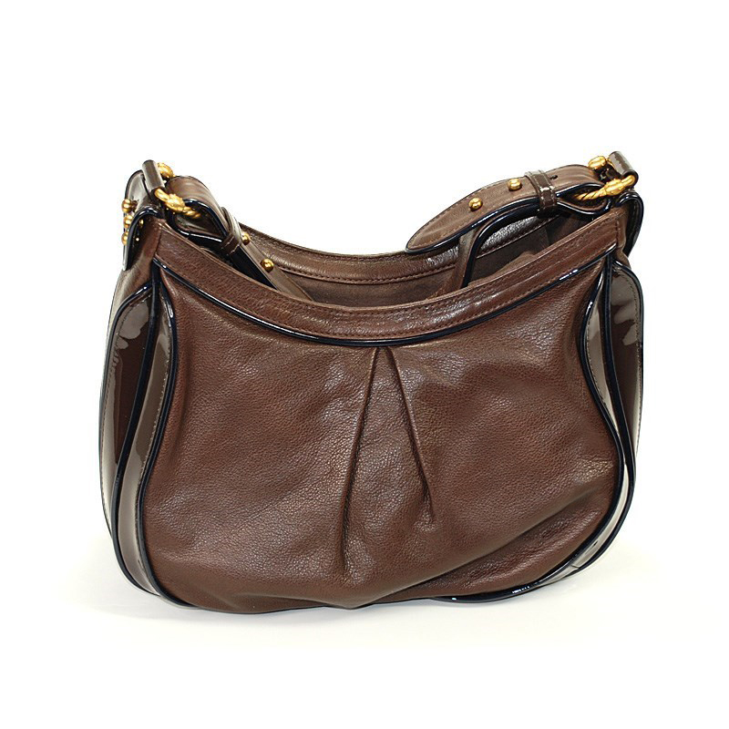 Escapade VIII Leo Bag Small Brown Leather Handbag BAGLECO.4444.803S