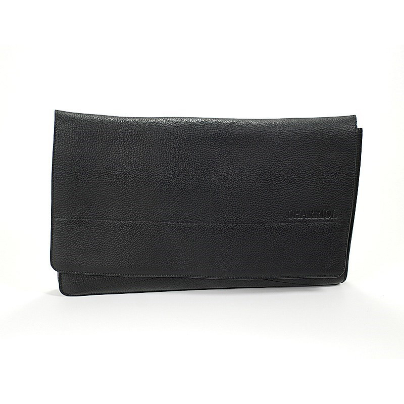 Men's Black Document Holder BAGMENCO.011.005