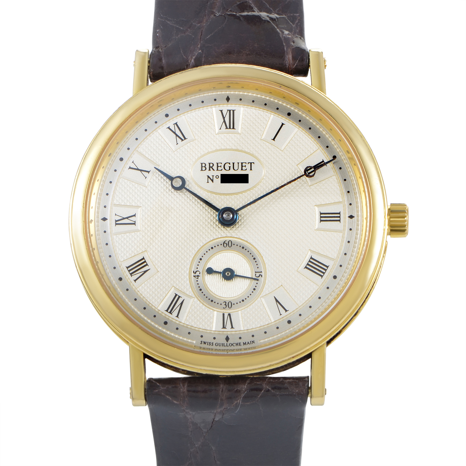 Breguet Classique Men's Manually Wound Yellow Gold Watch 3910ba/15/286