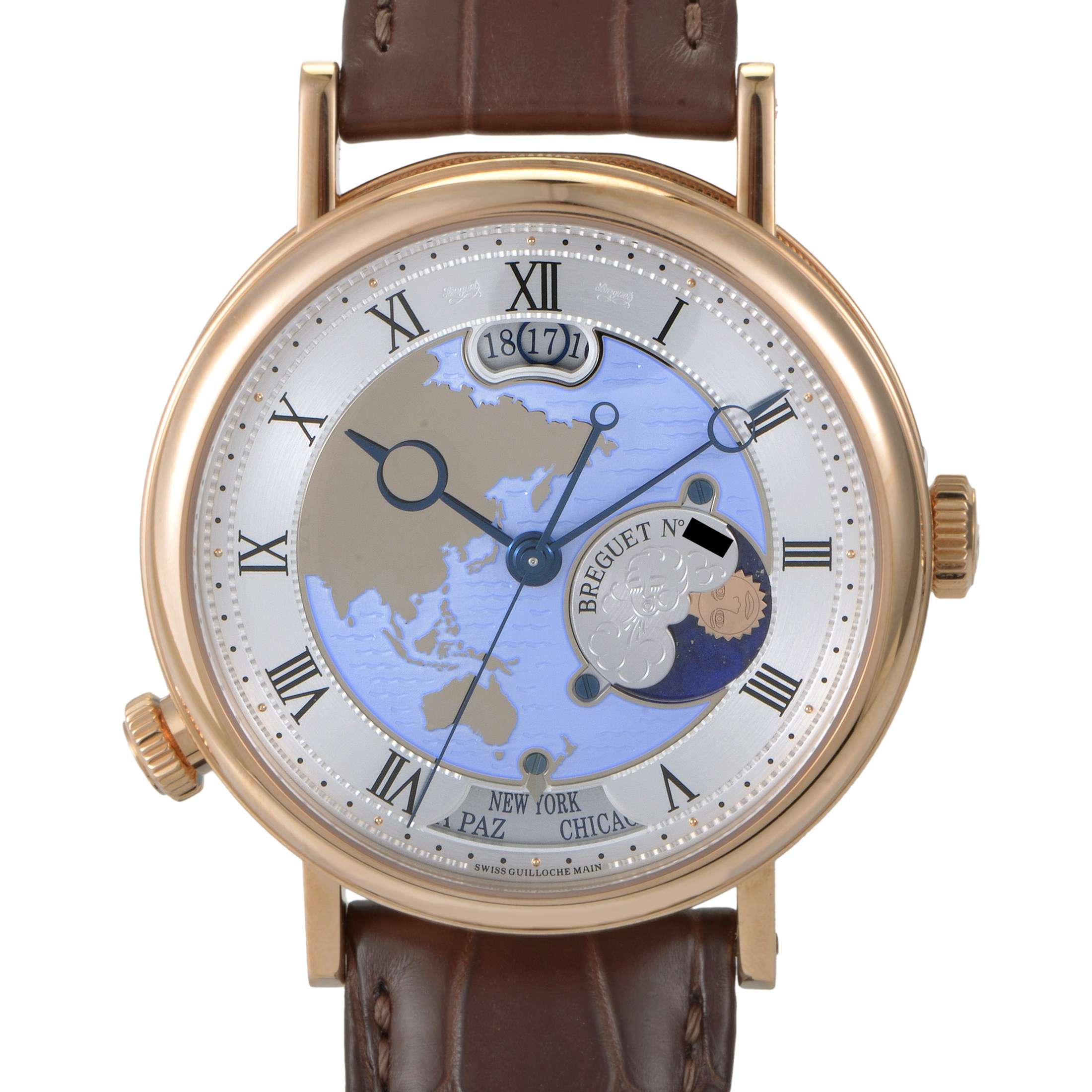 Classique Hora Mundi Asia and Oceania Mens Watch 5717BR/AS/9ZU