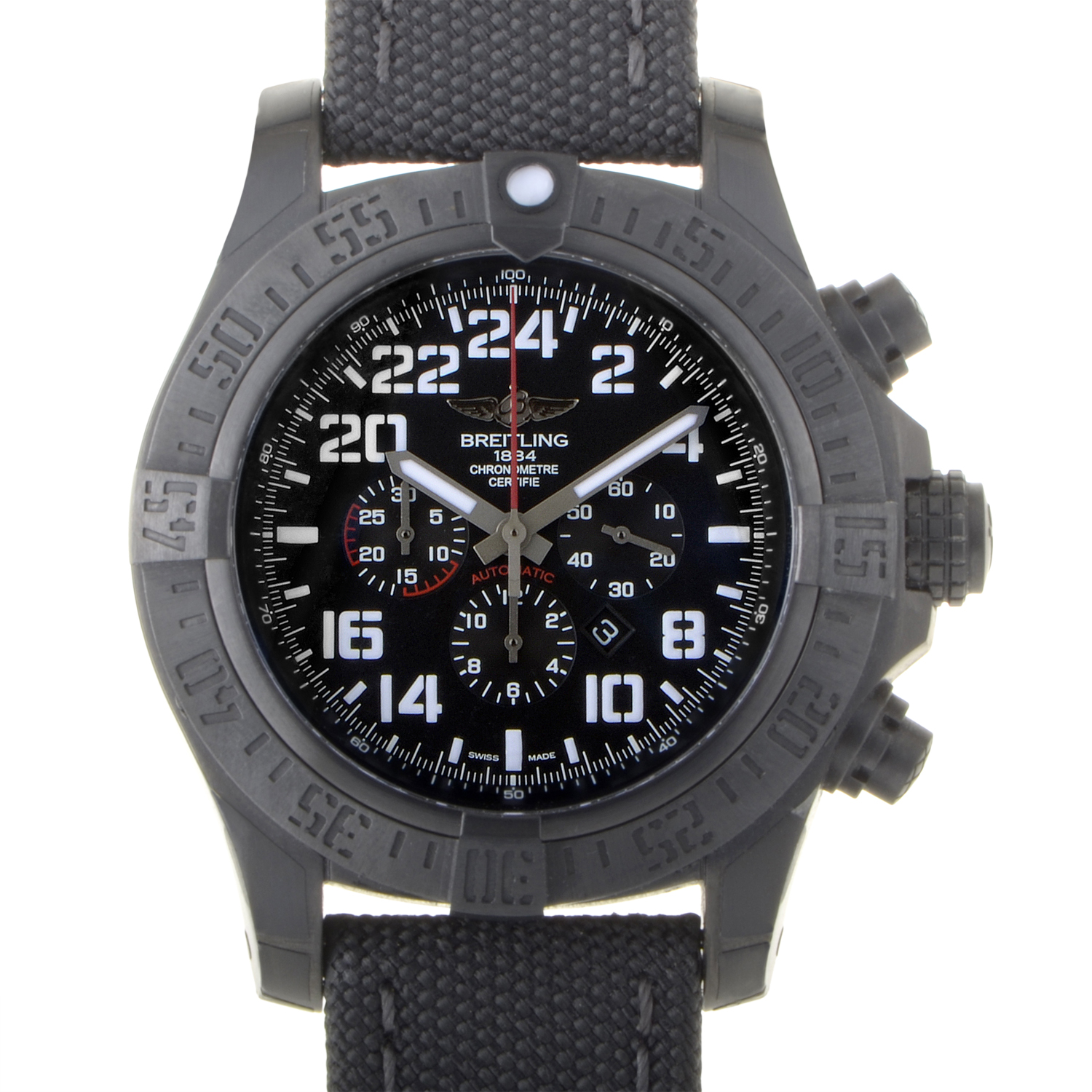 Super Avenger Military Blacksteel m2233010/bc91-1ft