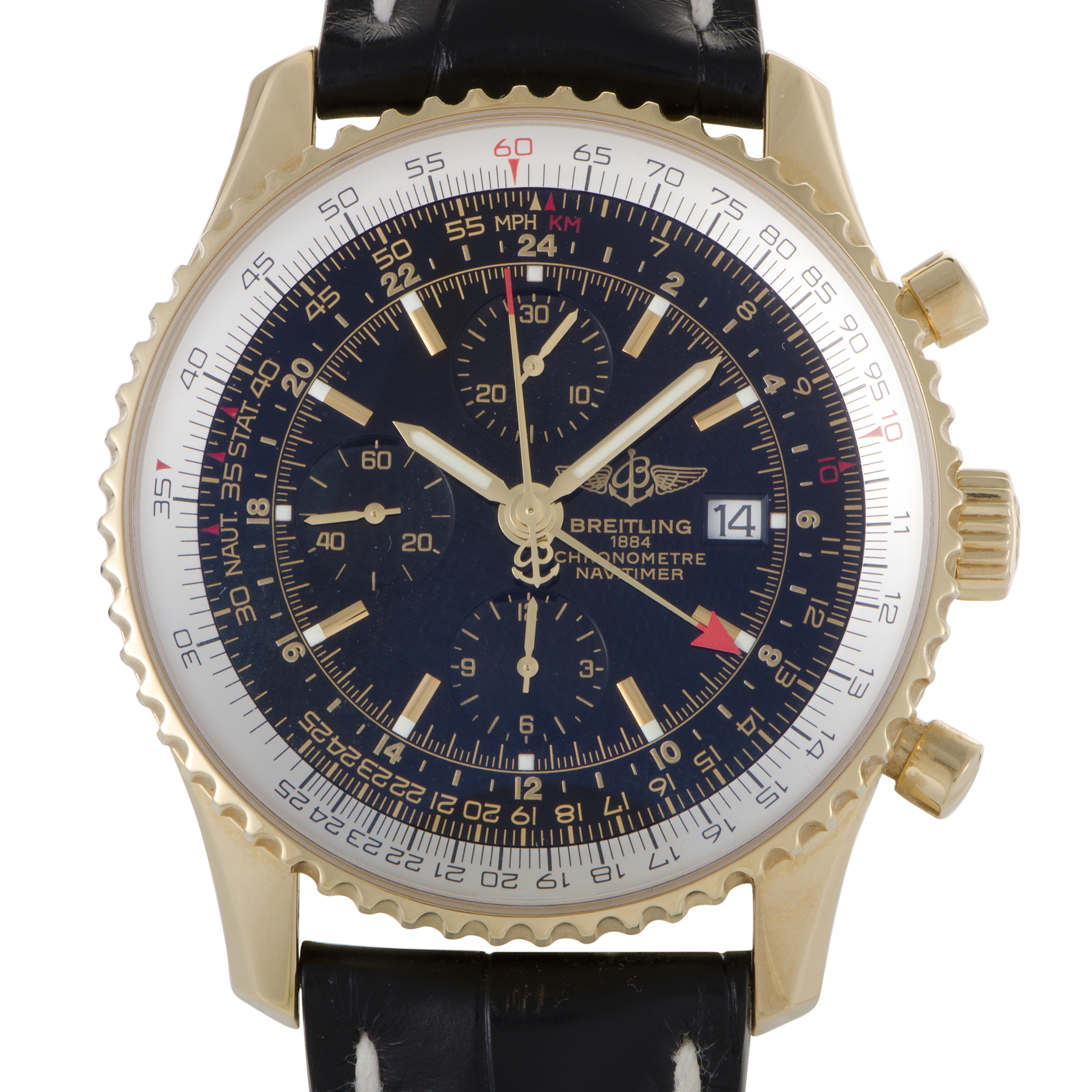 Navitimer World Mens Automatic Watch h2432212/b852-2CD