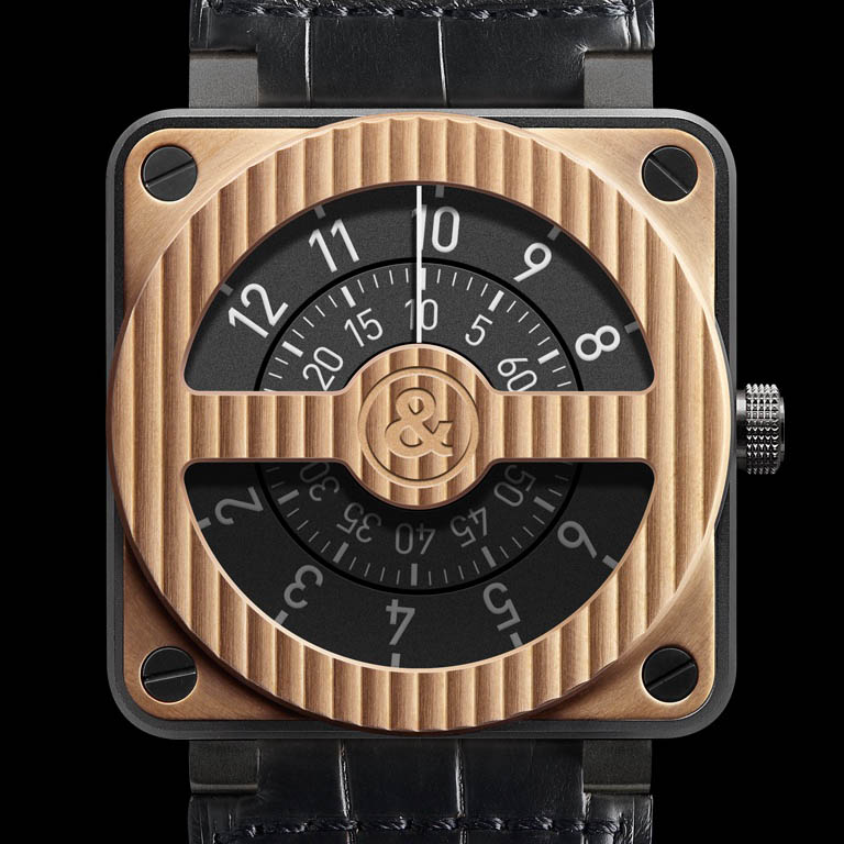 BR01-92 Compass Rose Gold