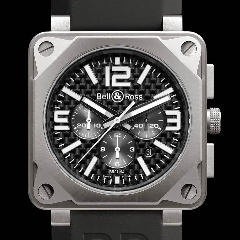 BR01-94 Chronograph Pro Titanium Carbon Fiber