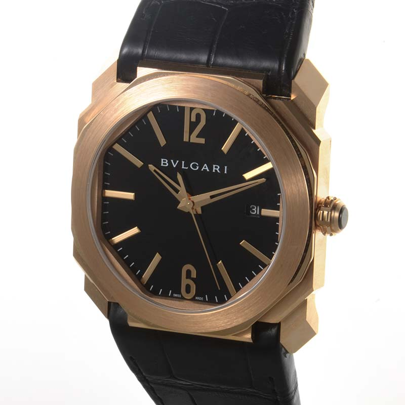 newest 7a4d4 f83fc WatchNet: Luxury Time: FS: Bvlgari 18K Rose Gold Octo Men's ...